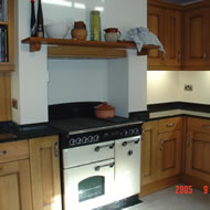 Granite kitchen worktop example