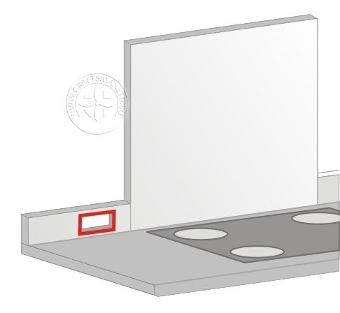 Socket cutout